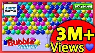 Bubble Shooter Gameplay  - Level 31 to 40 | Arcade Games || @Game Point PK screenshot 5