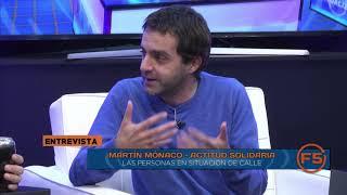 Martín Mónaco, Actitud Solidaria - Campaña para personas en situación de calle - F5 23 05 19