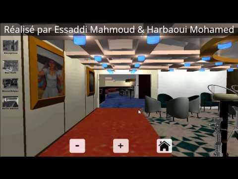 PFE-ISAMM Visite Virtuelle Interactive 3D pont 7 Navire Carthage