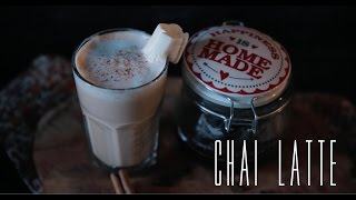 Chai latte [BA Recipes]