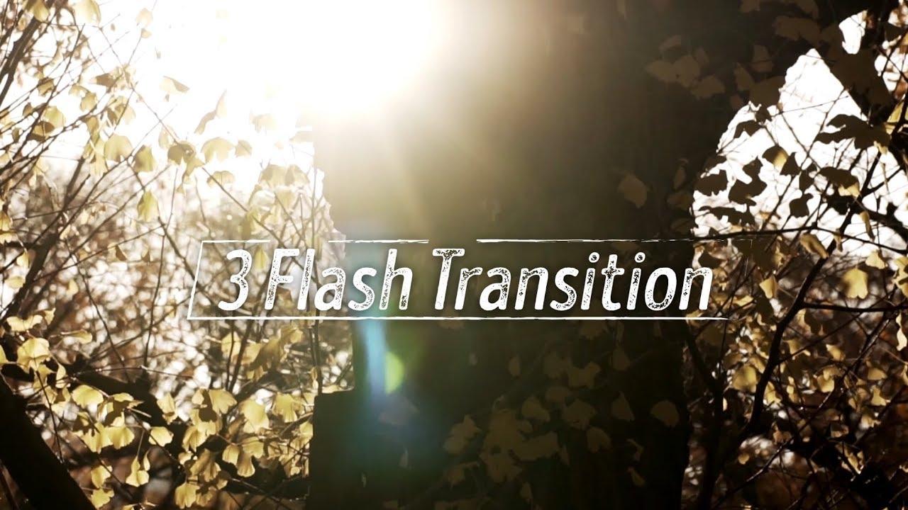 Hướng dẫn 3 chuyển cảnh Flash Transition // Premiere Pro CC