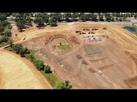 Aerial Video: Harvest Subdivision Construction Folsom CA