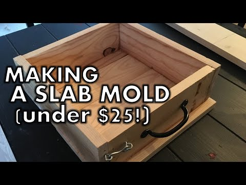 DIY Soap Slab Mold under $25 in materials! ll Cat and Raven Designs