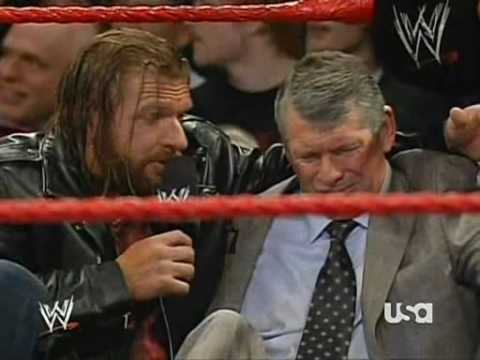Triple H Helps Vince 'Looney' McMahon