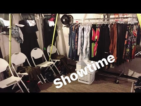 Britney Spears Dancers - Backstage (Piece Of Me August 9, 2017)