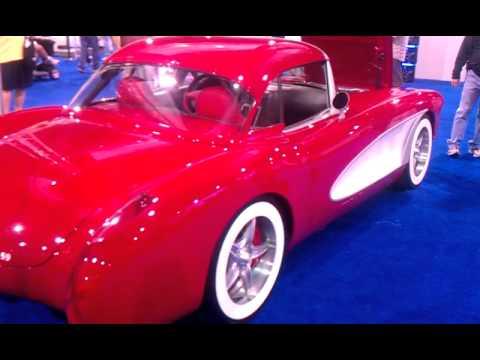 West Coast Customs >> Will I Am Corvette at SEMA 2011 - YouTube