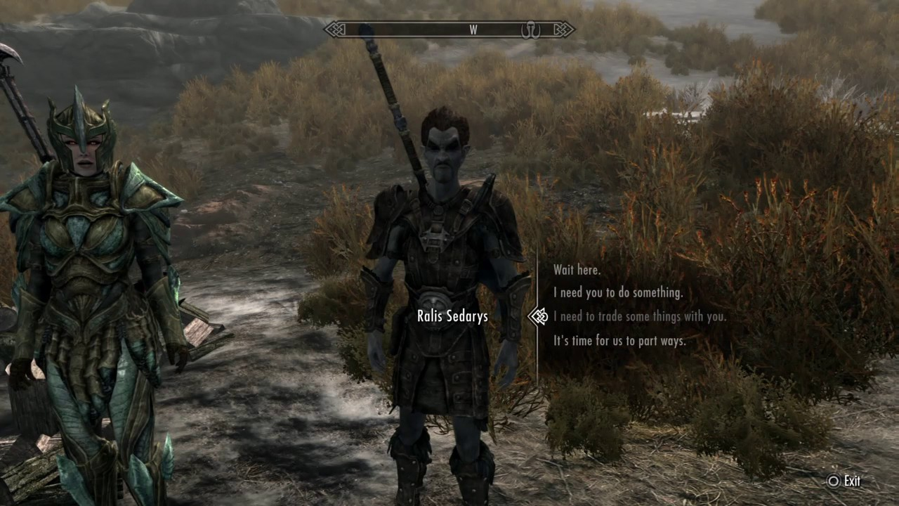 how to make a skyrim follower