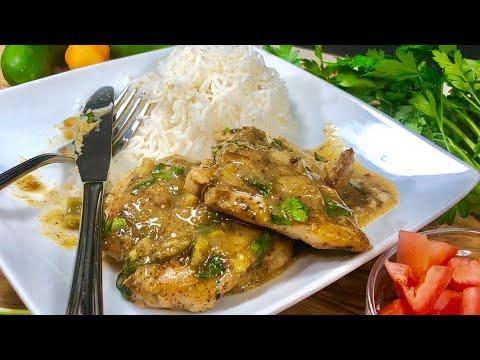 Spicy Mustard Chicken and Sauce