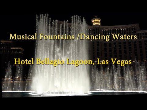 Bellagio Fountains, Las Vegas,  2017