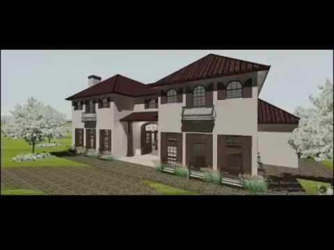 San Antonio Builder - Tour of A Spanish Colonial Home Design