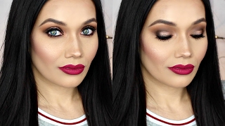Retro Glam Makeup Tutorial | #TBT Too Faced Semi Sweet Chocolate Bar