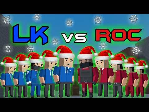 Block Strike || CLAN WAR || L.K vs ROC