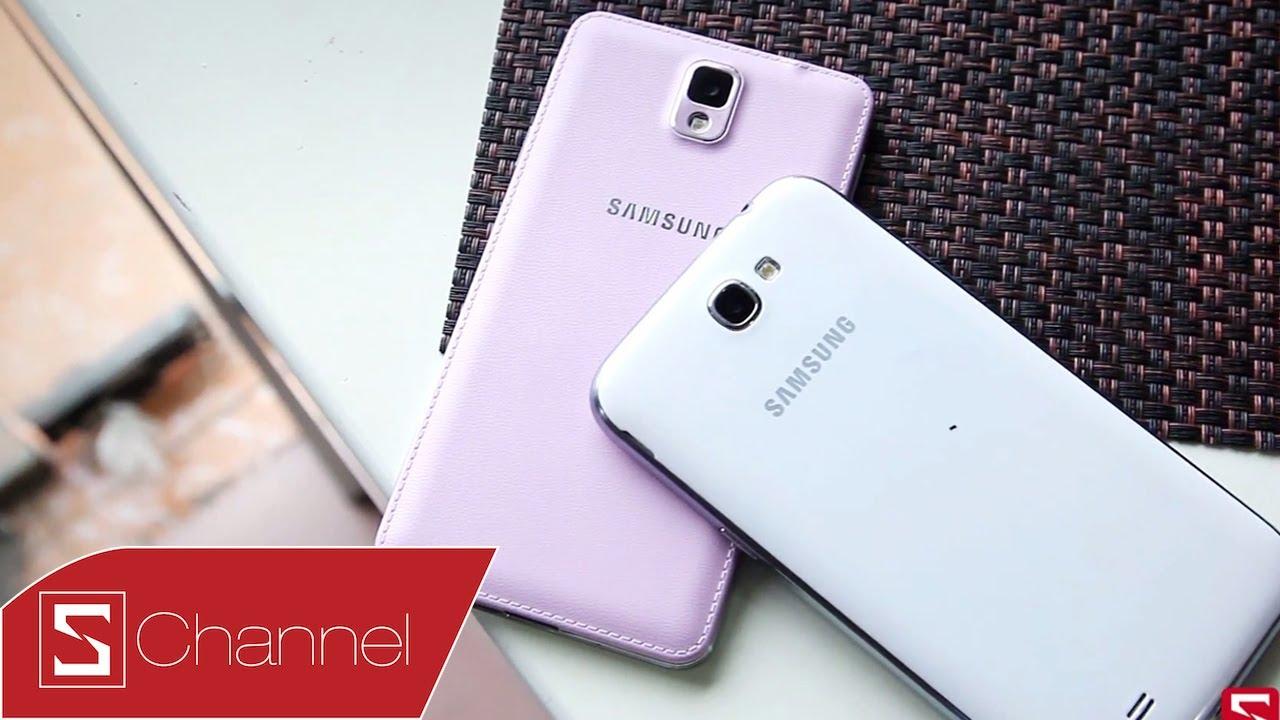 Schannel – Note 3 vs Note 2: Sau một năm Samsung đã cải tiến được những gì ? – CellphoneS