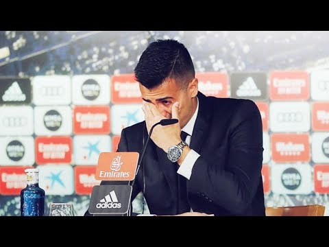 Reinier Burst Into Tears During His Real Madrid Presentation | Oh My Goal