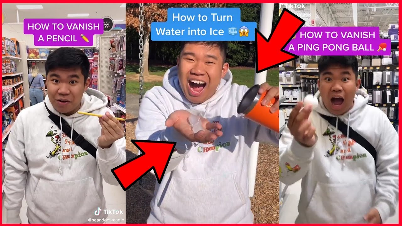 HOW TO DO VIRAL TIKTOK MAGIC TRICK THAT WORKS! 😲😲 - YouTube