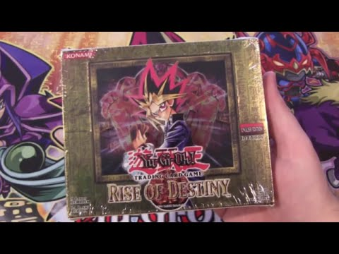 Yugioh Rise of Destiny 1st Edition Unboxing 24 Packs