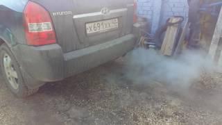 Hyundai Tucson раскоксовка MitsubishiShumma