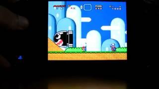 Super Mario world on the Vita (Snes9xTYL on VHBL 1.80)