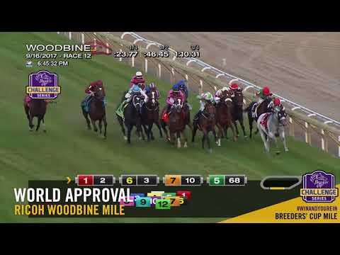 Resultado - $1.425.365,45 Jackpot High 5 - Woodbine Mile 2017 - https://secure.xbglobal.com/main.aspx