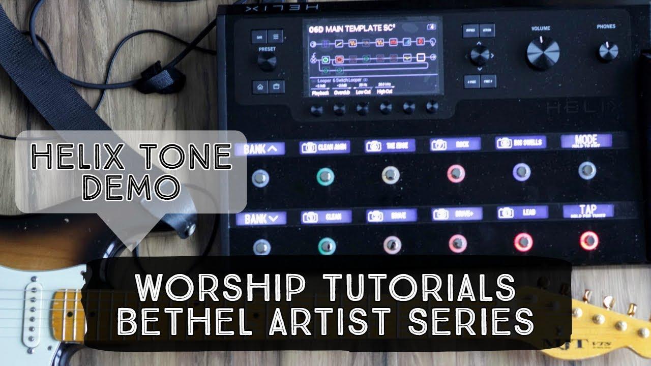 tone demo line 6 helix patch bethel artist series worship tutorials youtube. Black Bedroom Furniture Sets. Home Design Ideas
