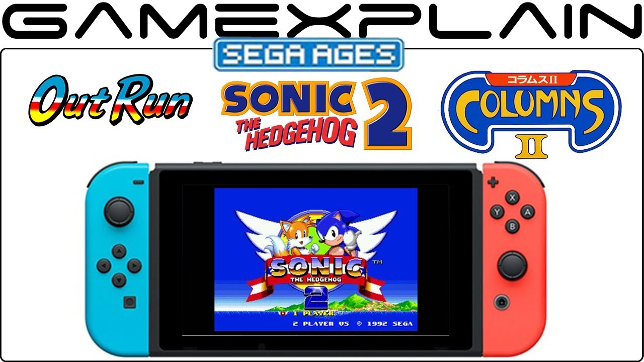 More Sega Ages Games Announced For Switch Including Sonic 2 And Columns 2 With Online Youtube