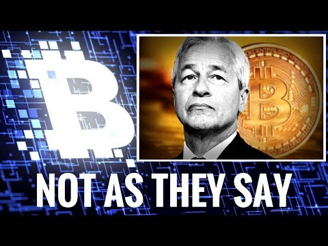 Bitcoin - Do As They Do, Not As They Say