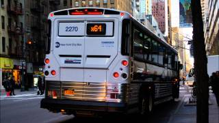 "Soundclip: 2012 [MTA Regional Bus] Motor Coach Industries ""D4500CT"" 2274"