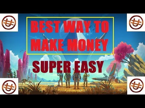 No Man's Sky The BEST WAY To Make MONEY | UNITS The FUN Way