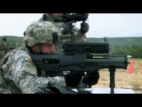 Sức Mạnh Quân Sự Mỹ- Súng XM-25 bắn đạn thông minh