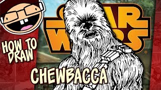 How to Draw CHEWBACCA (Star Wars) | Narrated Easy Step-by-Step Tutorial