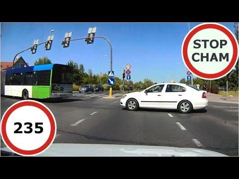 Stop Cham #235 - Niebezpieczne i chamskie sytuacje na drogach