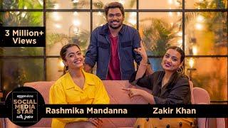 Social Media Star With Janice S03    E03 @Zakir Khan & Rashmika Mandanna