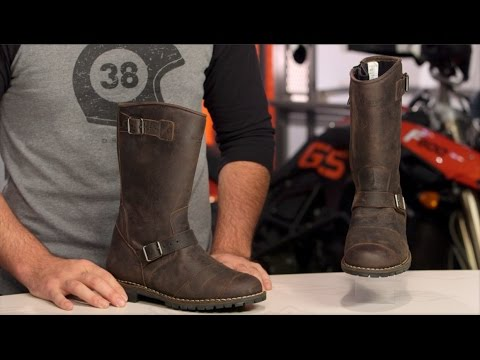 c3e80078da Belstaff Endurance Boots Review at RevZilla.com - YouTube
