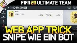 FIFA 20 - In der WEB APP SCHNELLER SNIPEN als an der Konsole! (Trick)