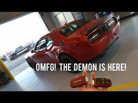 1st DELIVERED DODGE DEMON in AMARILLO!!!!!!!