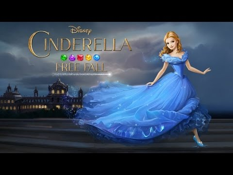 Cinderella Free Fall  - Золушка. Звездопад на Android(Обзор/Review)