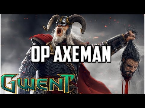 Gwent 90%+ Winrate Axeman ~ Laughing at Morvran ~ Gwent Ranked Deck Gameplay