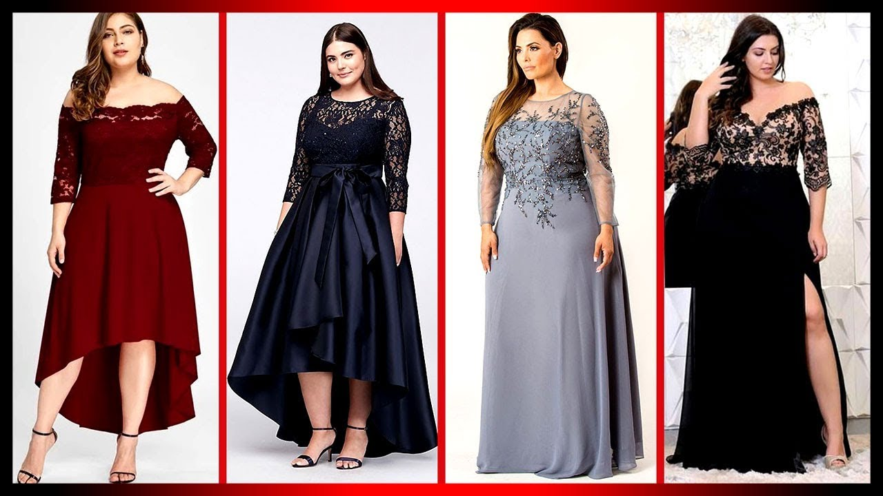 [VIDEO] - Stylish And Adorable Plus Size Curvy Maxi Dress Outfit Ideas Lookbook To Try On 8