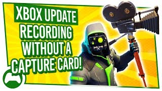 How to use YOUR XBOX ONE as a CAPTURE CARD | Xbox Update