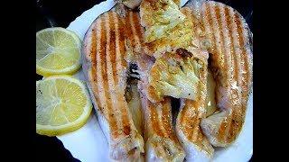 Нежнейшая Семга На Гриле Как приготовить рыбу на гриле/Электрогриль Редмонд рецепты