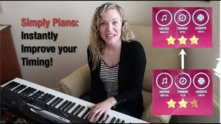 Simply Piano - Improve Timing - Instant Fix!