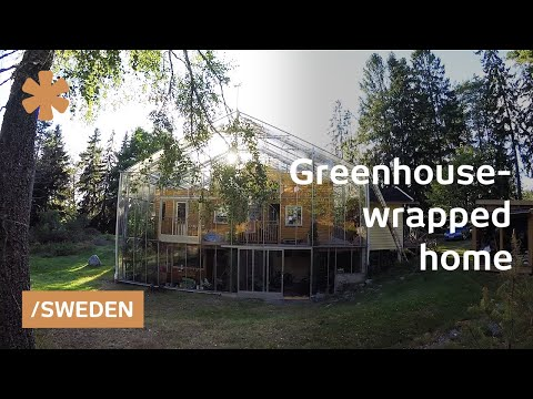 Family Wraps Home In Greenhouse To Warm Up Stockholm Weather