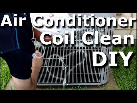HVAC Coil Cleaning Air Conditioner AC Coil Cleaning DIY Frost King