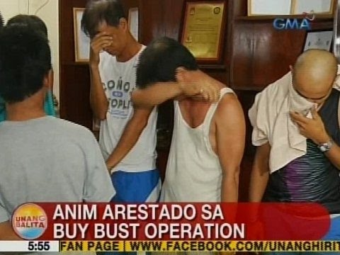 UB: 6 arestado sa buy-bust operation sa Taguig