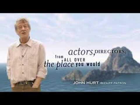 the Ibiza International Film Festival J Hurt