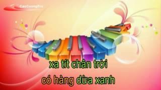 Karaoke - Việt Nam Quê hương tôi - [Beat chuẩn] - Yeucahat.mobi