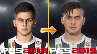 PES 2019 | New Face Concept | (Messi, Dybala, Martial)