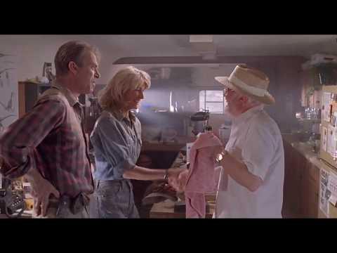 "Jurassic Park - John Hammond ""I own an island off the coast of Costa Rica"""