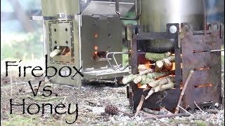 Honey Stove Vs. Firebox Stove. A comparison of two popular woodburning stoves.