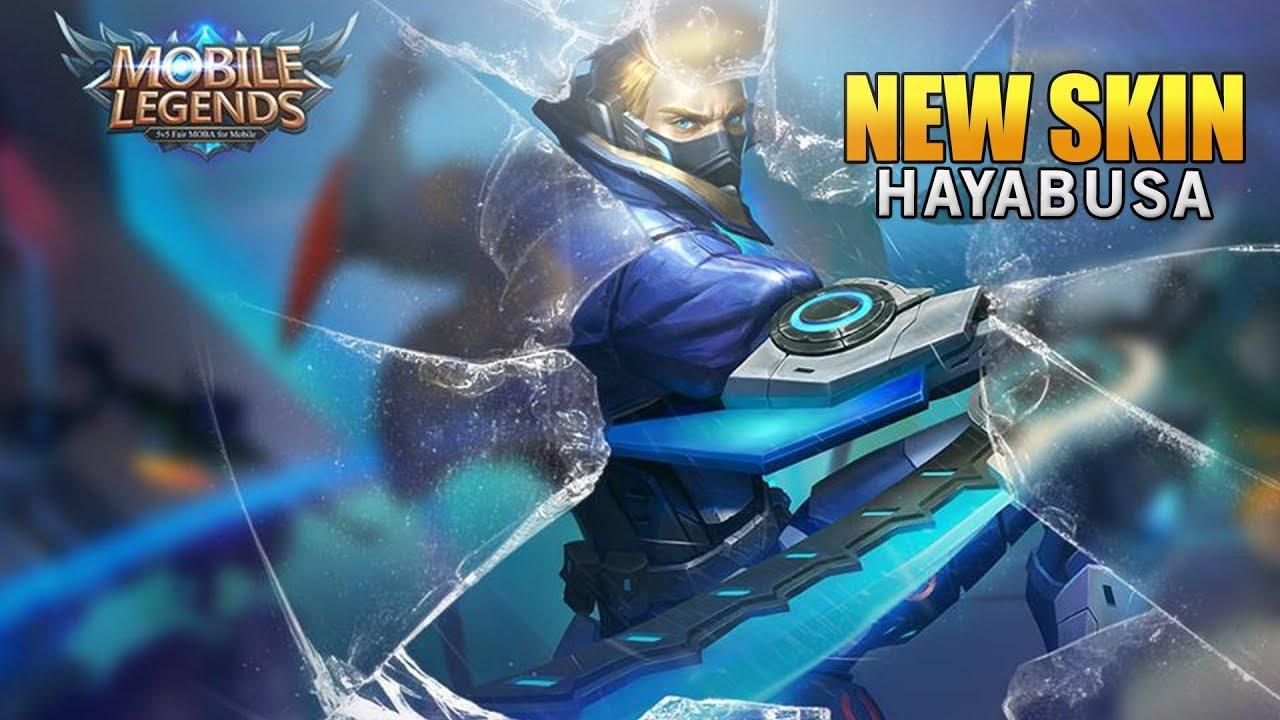 Mobile Legends New Hero Skin Hayabusa